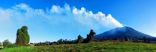 Volcán Turrialba en Costa Rica foto