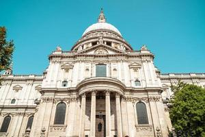 St. Paul's Cathedral church in London. photo