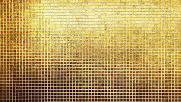Golden tiles pattern photo