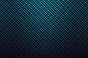Blue Fiber Carbon Background vector
