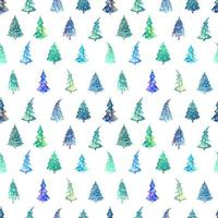 Vector seamless background with fir tree. Can be used for wallpaper, pattern fills, web page, surface textures, textile print, wrapping paper