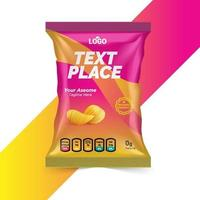 Free Chips and Dry Food Packaging ideas for foods company vector