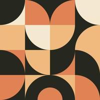 arte de pared minimalista de geometría con fondo de forma simple. diseño de patrón mínimo abstracto para póster, banner web, presentación, paquete. vector