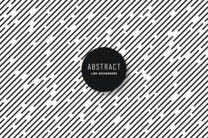 Abstract minimal design diagonal stripe and Lines Pattern. Simple black and white texture. Design element for prints, web, template and textile pattern. Vector illustration