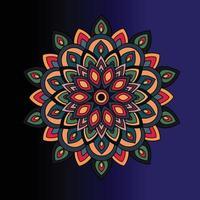 Mandala Art Design Vector Illustrator Background