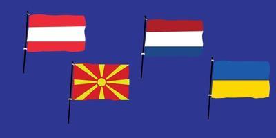 Euro 2020 Group C vector
