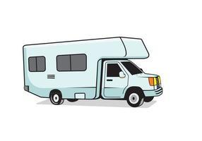 RV recreational vehicle design illustration vector eps format , suitable for your design needs, logo, illustration, animation, etc.