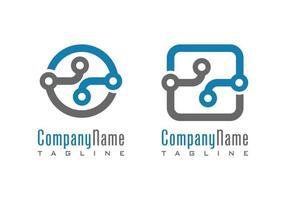 Hub logo design illustration vector eps format , suitable for your design needs, logo, illustration, animation, etc.
