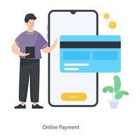 Online Payment Design vector