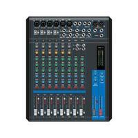 Sound mixer. Professional audio mixing console, vector illustration