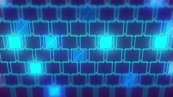 tecnologia futurista abstrata video