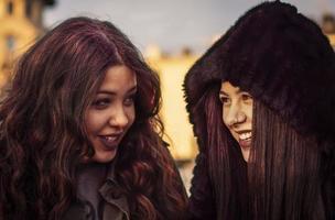 Friendship is like a smile photo