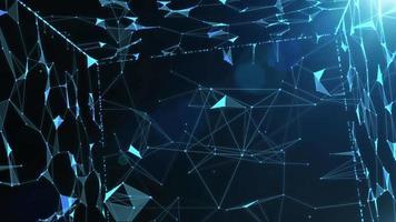 mouvement de technologie d'idée d'entreprise et d'innovation pour le fond, objectif 4k video