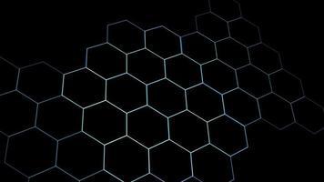 digital hexagon dimension rörande trådskydd och ändra färg till rött i slutet video