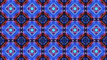 abstrakte Reflexion Regenbogenblumen Luxusmuster Textur Hintergrund, dunkle Dimension Regenbogenblasen mit tanzenden Herzen mit weißem Stern video
