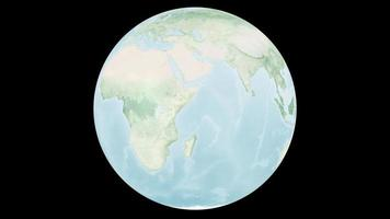 Geography earthmap digital global world map art small ball, Elements of this image furnished by NASA video