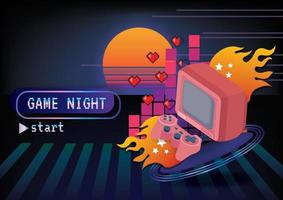Game zone game icon background vector game concept
