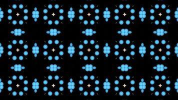 abstrakte Reflexion Regenbogenblumen Eier Muster Textur Hintergrund, dunkle Dimension Regenbogenblasen mit tanzenden Herzen mit weißem Stern video