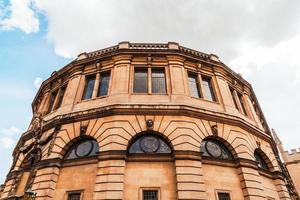 Teatro Sheldonian en Oxford, Inglaterra, Reino Unido. foto