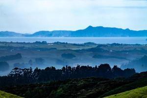 Views of the area from the Whangarei Lookout, Whangarahi, New Zealand photo