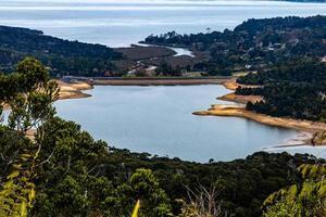 Views of Waitakerie Dam, Waitakerie Ranges, North Island, New Zealand photo