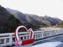 Beautiful mountains Seoraksan in South photo