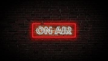On Air Neon Video