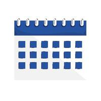calendar reminder date isolated icon vector
