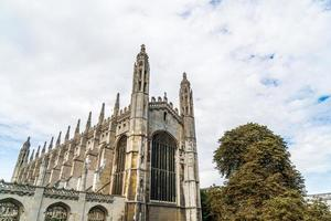 Capilla del King's College en Cambridge, Reino Unido foto