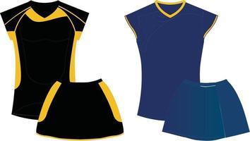 Top And Skirts Mock ups vector