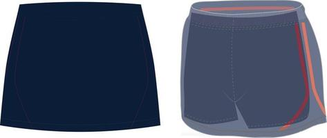Skirt With Spanky vector