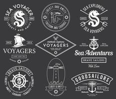 Vector badges and labels design