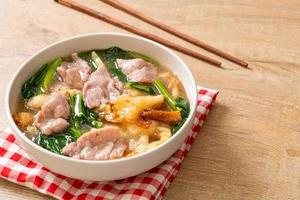 Noodles with Pork in Gravy Sauce photo