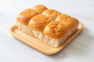 pan con natillas thai pandan foto