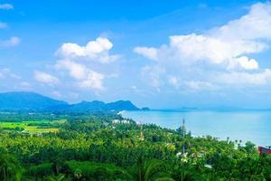 Naern Thae Wada viewpoint in Nakhon Si Thammarat, Thailand photo
