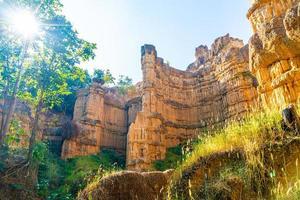 Pha Chor or the Grand Canyon Chiangmai in Mae Wang National Park, Chiang Mai, Thailand photo