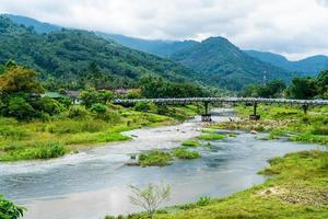 Kiriwong village - one of the best fresh air village in Thailand and live in old Thai style culture. Located in Nakhon si thammarat, Thailand photo