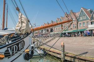 Volendam Harbor, Netherlands photo