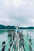 Talet Bay in Khanom, Nakhon Sri Thammarat, Thailand photo
