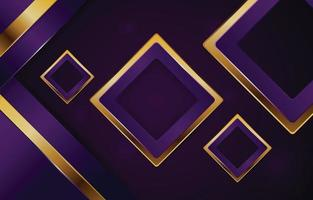 Luxury Purple and Gold Background vector
