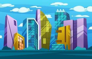Great View of Skyscraper vector