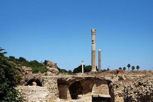 Antoninus Baths, ruins of Carthage, Tunisia photo
