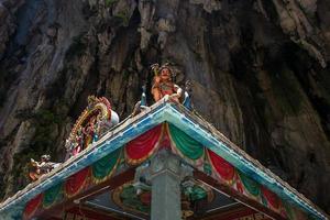 The Batu caves in Kuala Lumpur photo
