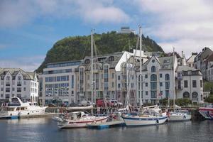 View of Alesund, Norway photo