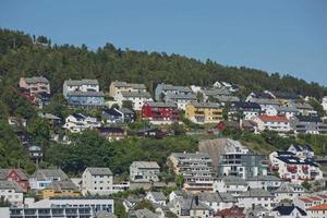 Beautiful view of Alesund, Norway photo