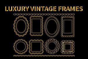 Luxury Vintage Frames Vector eps 10