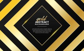 diseño de fondo abstracto moderno dorado vector