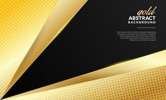 golden modern abstract background design vector