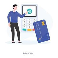 Point Of Sale vector