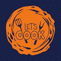 cooking spatula illustration vector